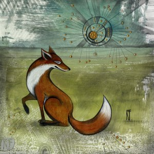 The Sitting Fox