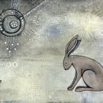 Winter Hare - SOLD