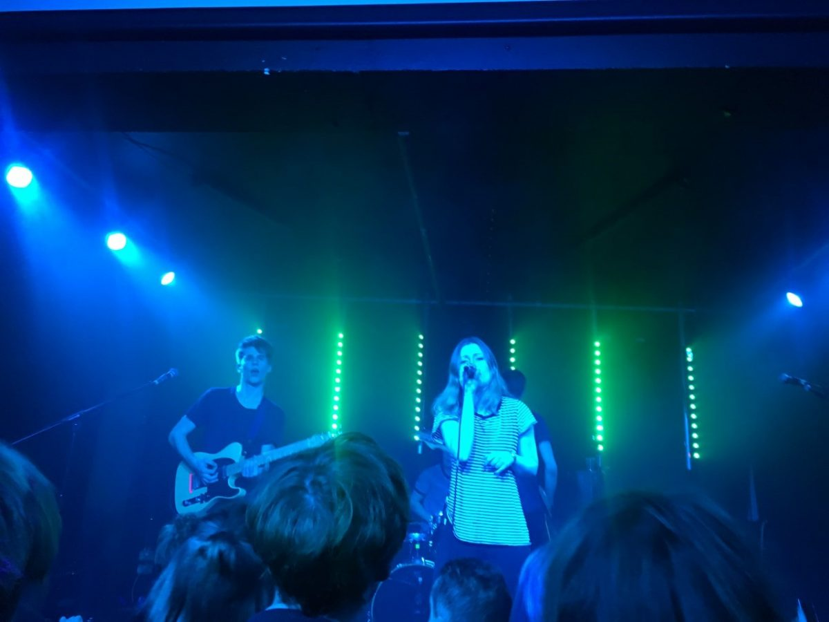 Picture of Sløtface at their London gig