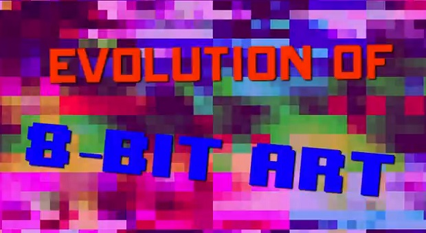 Evolution of 8-Bit Art