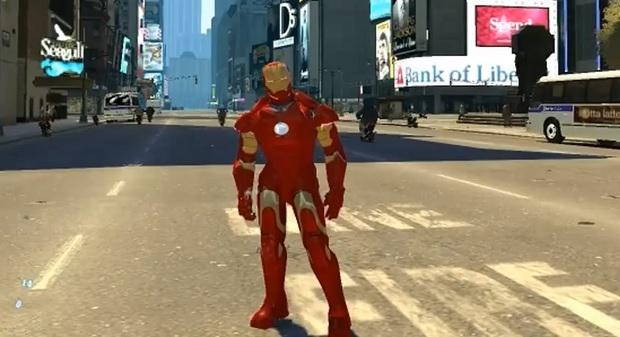 GTA IV Iron Man
