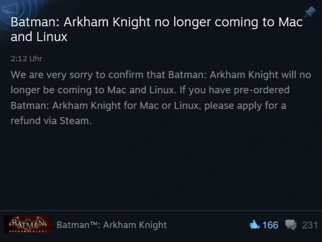 BatmanAnkündigung