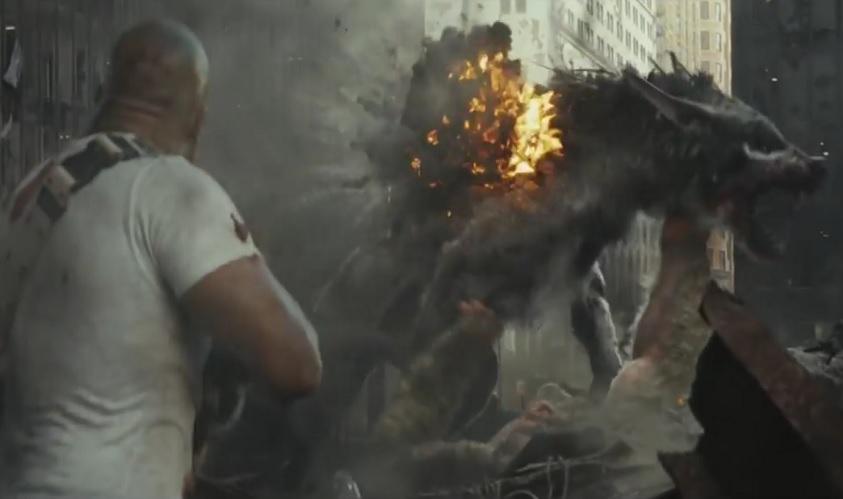 Hier ist der erste Trailer zu Rampage mit Dwayne 'The Rock' Johnson