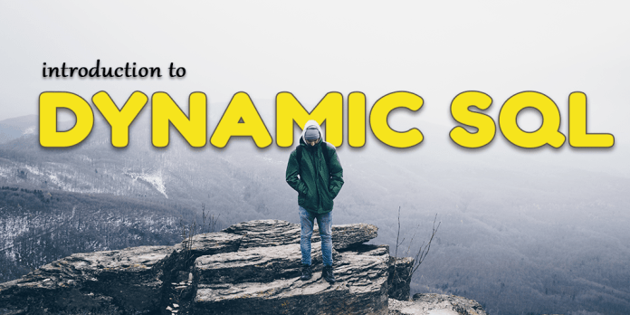 introduction to native dynamic sql by manish sharma