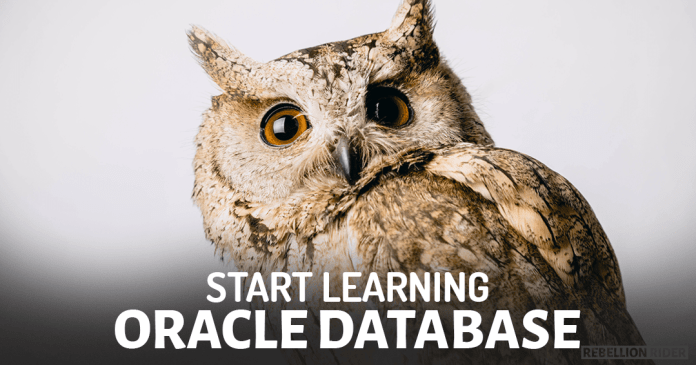 How To Learn Oracle Database