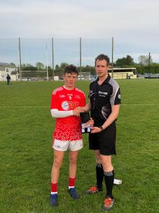 Best and Fairest Cork East Conor Fitzgerald