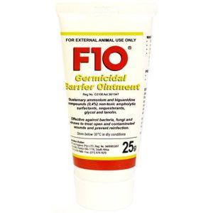 F10 Germicidal Barrier Ointment 25g