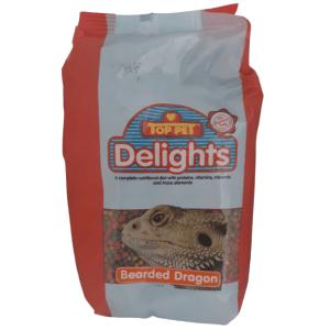 FSDL250 Delight Bearded Dragon Adult Food 1kg at Rebel Pets