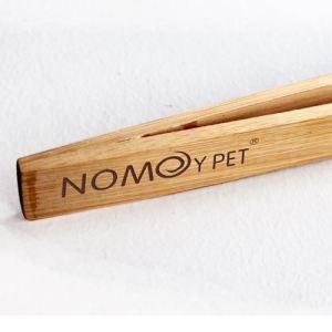 0006662_np bamboo angled reptile feeding long-tongs at Rebel Pets