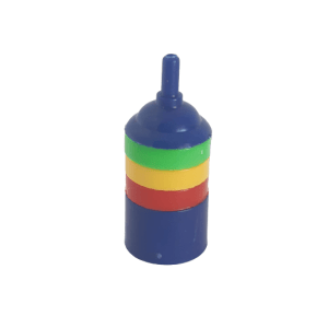 Rainbow Plastic Airstone 25mm at Rebel Pets