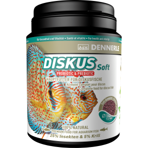 STAPLE FOOD FOR ALL DISCUS FISH DISKUS SOFT