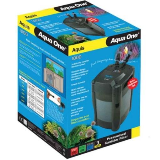 Aqua One CF1000 Canister Filter Box at Rebel Pets