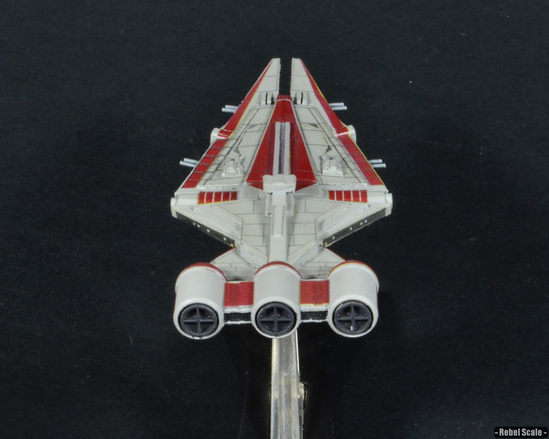 Arquitens Light Cruiser Rebel Scale
