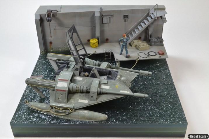 T-47 Seaspeeder diorama