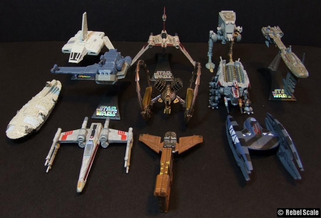 Star Wars Micro Machine Lot-Rebel Medium Transport 2 pièces