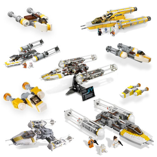Rebelscumcom Lego Dualing Y Wings