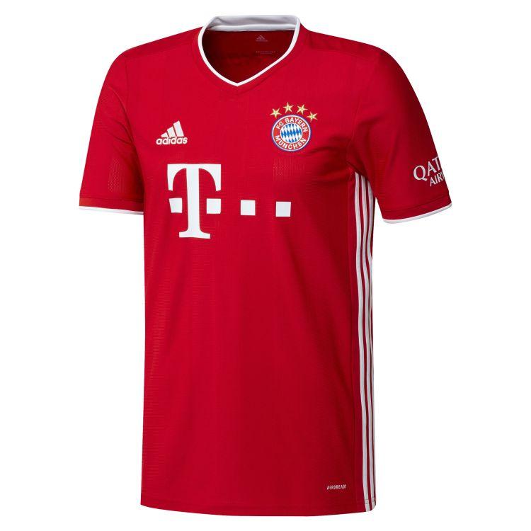 FC Bayern Munich 2020/21 Mens Home Jersey | Rebel Sport