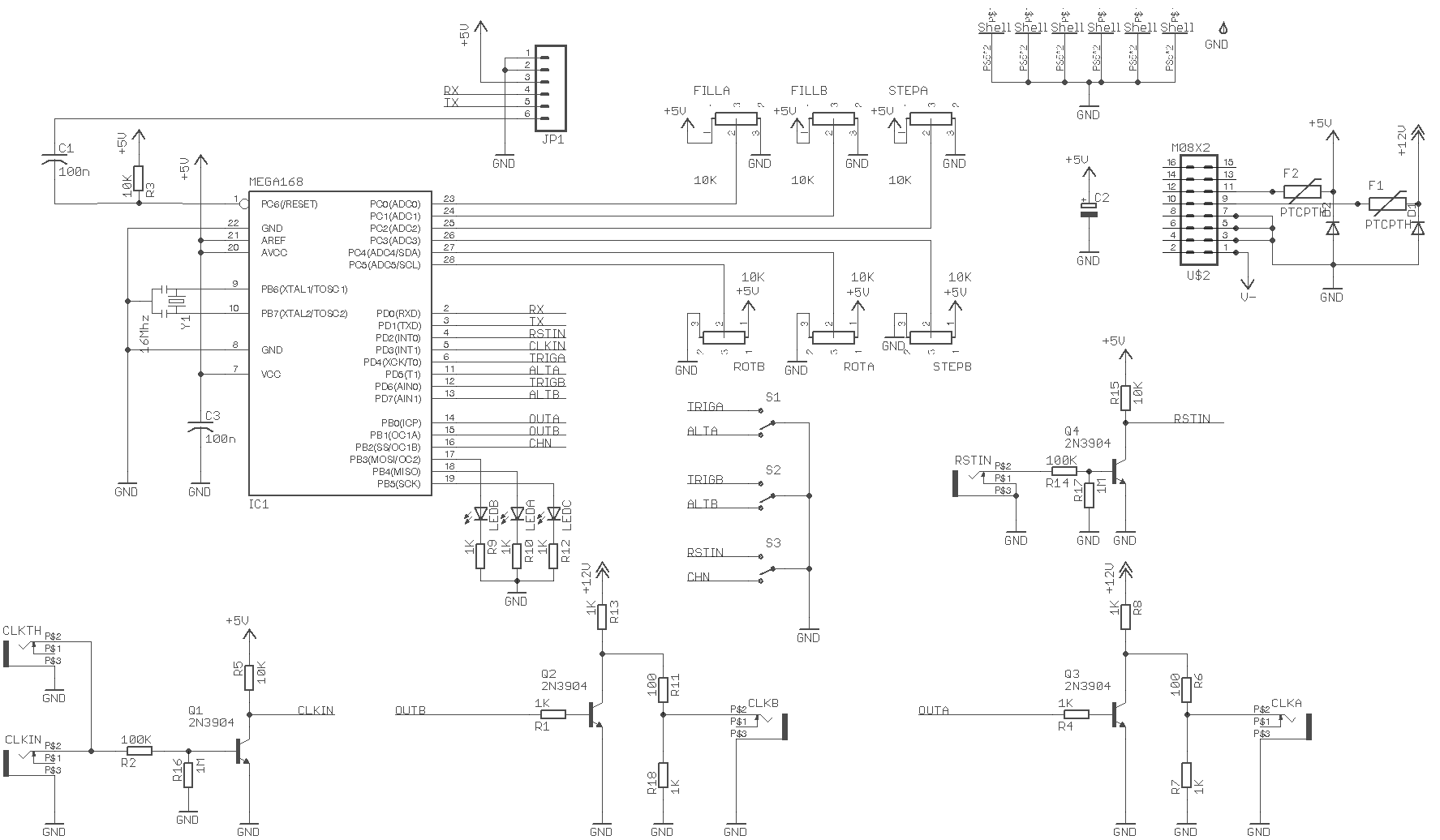 Euclidean Sequencer Published Rebel Technology