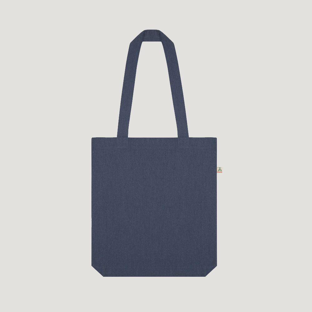 Recycled cotton and Polyester tote bags Salvage