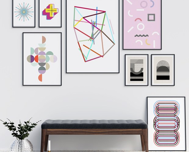 A Collection of Original Wall Art and Fine Art Prints from PLAK Berlin. Produced at Rebel Unlit.