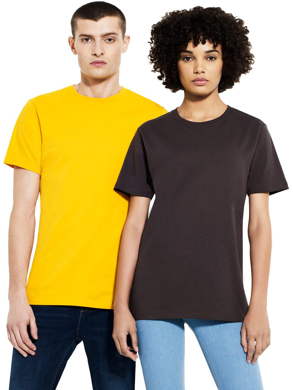 EP18 Heavy organic cotton t-shirts. Custom Printed tshirts from rebel unlit screen printing studio Berlin.