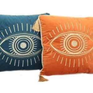 Eye Velvet Cushion