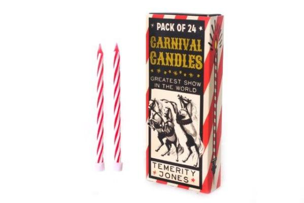 Retro Birthday Candles