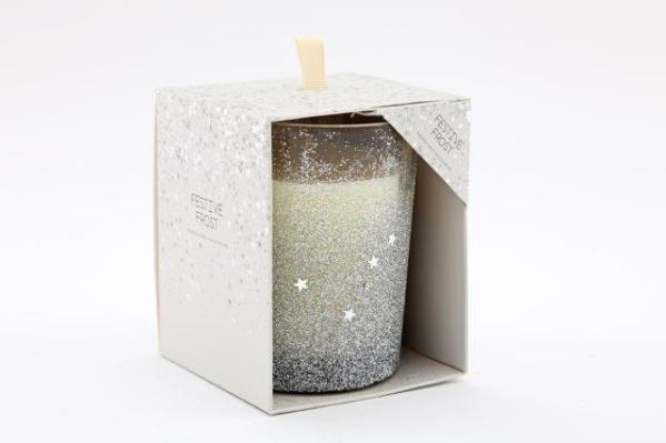 Festive Frost Candle
