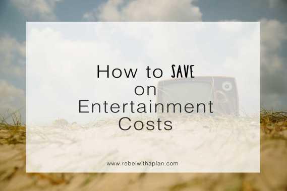 home entertainment cost savings