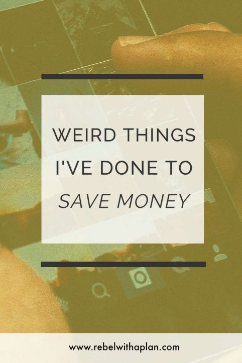 Weird things I've done to save money. I lived in my car, stocked up on fast-food condiments and more.