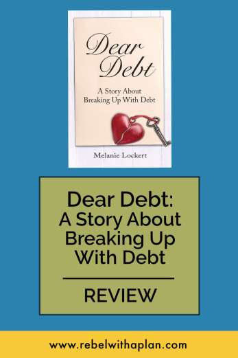 Dear Debt: A Story of Breaking Up With Debt, book review. How one woman was able to pay off $81,000 in student loans (without living with parents or making six figures). Click through to read!
