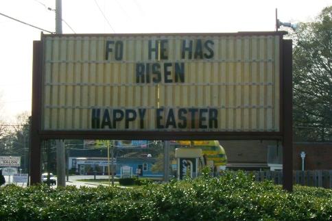 Fo' He Has Risen!