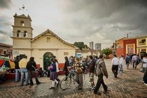 Chorro de Quevedo in La Candelaria, Bogota, Columbia
