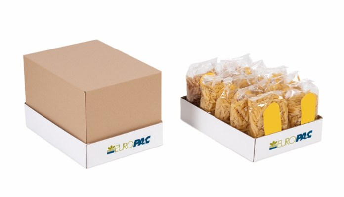 Spanish packaging company Europac makes shelf ready packaging