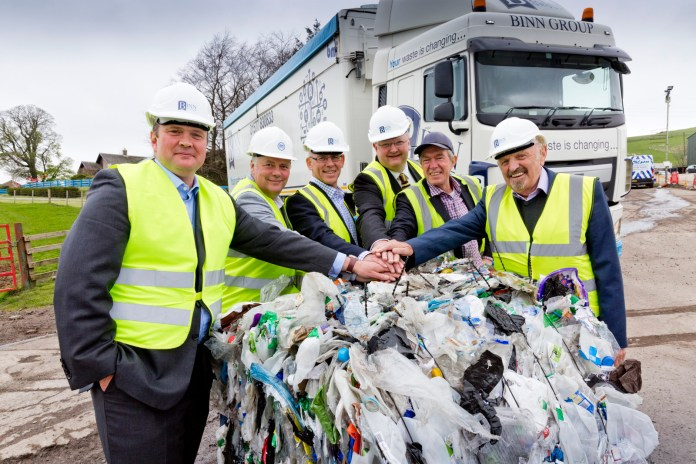 New plastic waste recycling facility in Perthshire