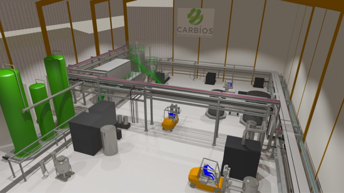 Carbios enzyme PET recycling plant