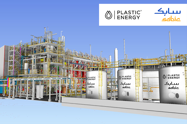 SABIC and Plastic Energy plastic chemical recycling plant