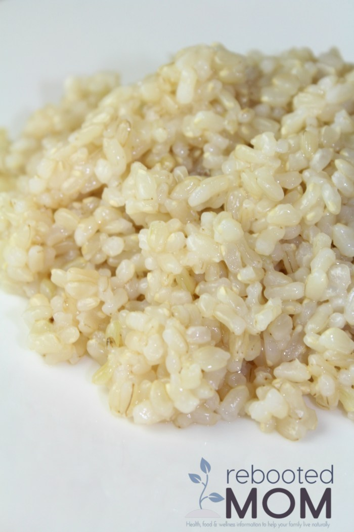 Easy Brown Rice in the Instant Pot