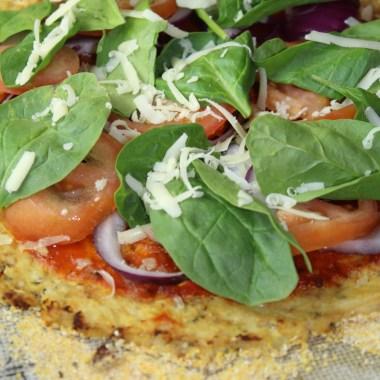 Simple Cauliflower Pizza Crust Recipe