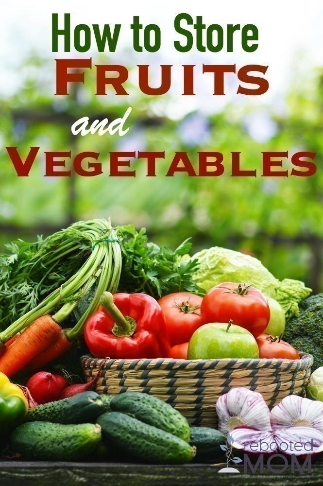 Store Fruits & Veggies