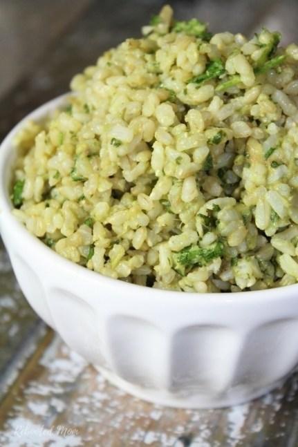 Instant Pot Cilantro Avocado Rice