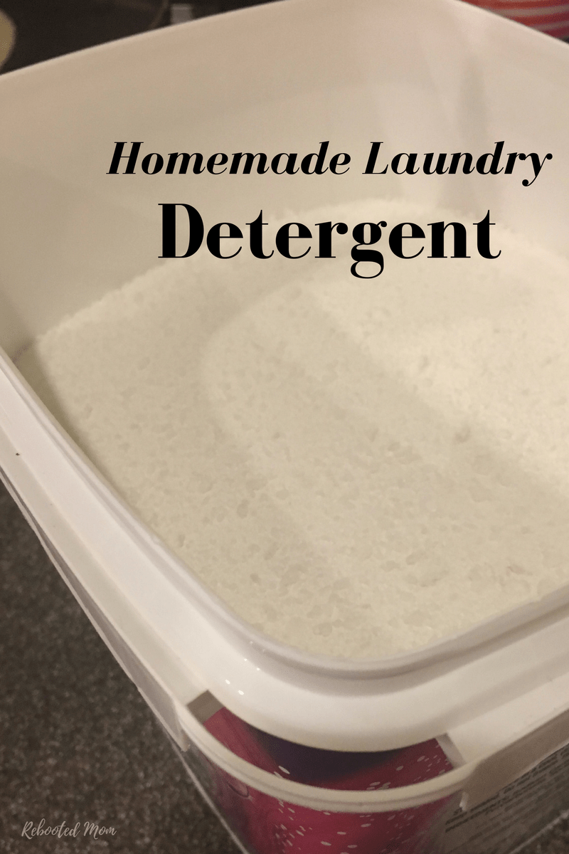 Make your own homemade powdered laundry detergent with simple, non-toxic ingredients that are both effective and safe for skin.