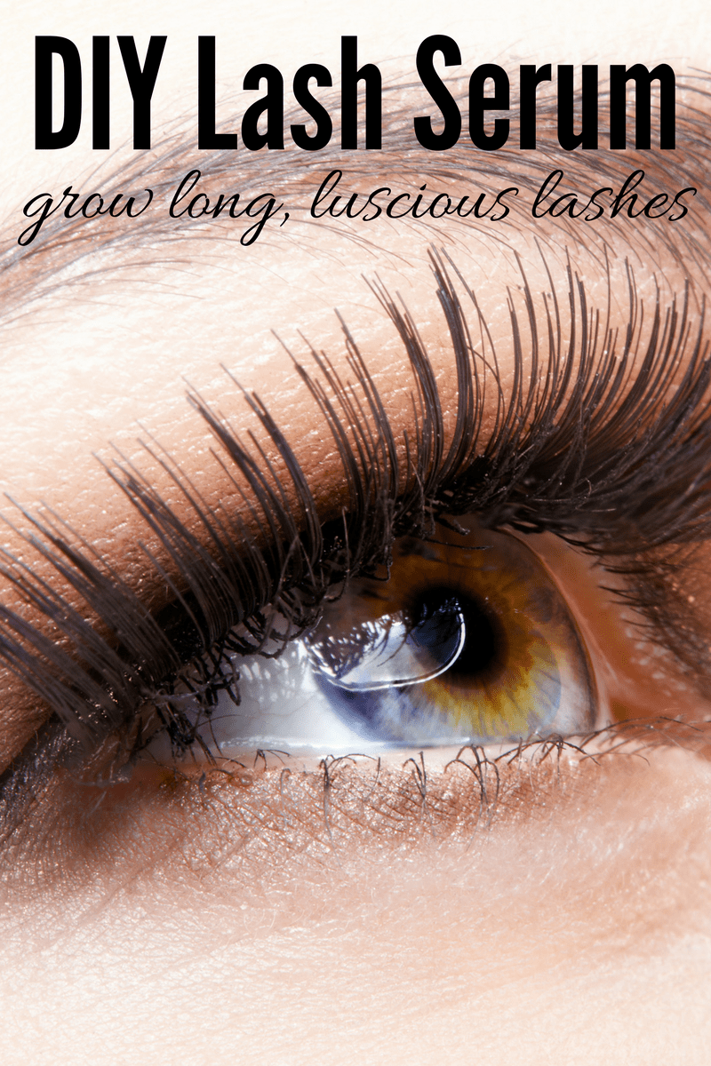 Diy Lash Serum For Long Luscious Lashes Rebooted Mom