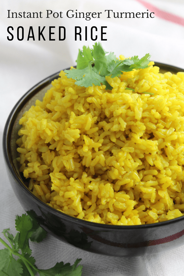 Learn how to cook soaked brown rice in your Instant Pot to help reduce the content of phytic acid and make an incredibly nutritious meal that's easy to digest.