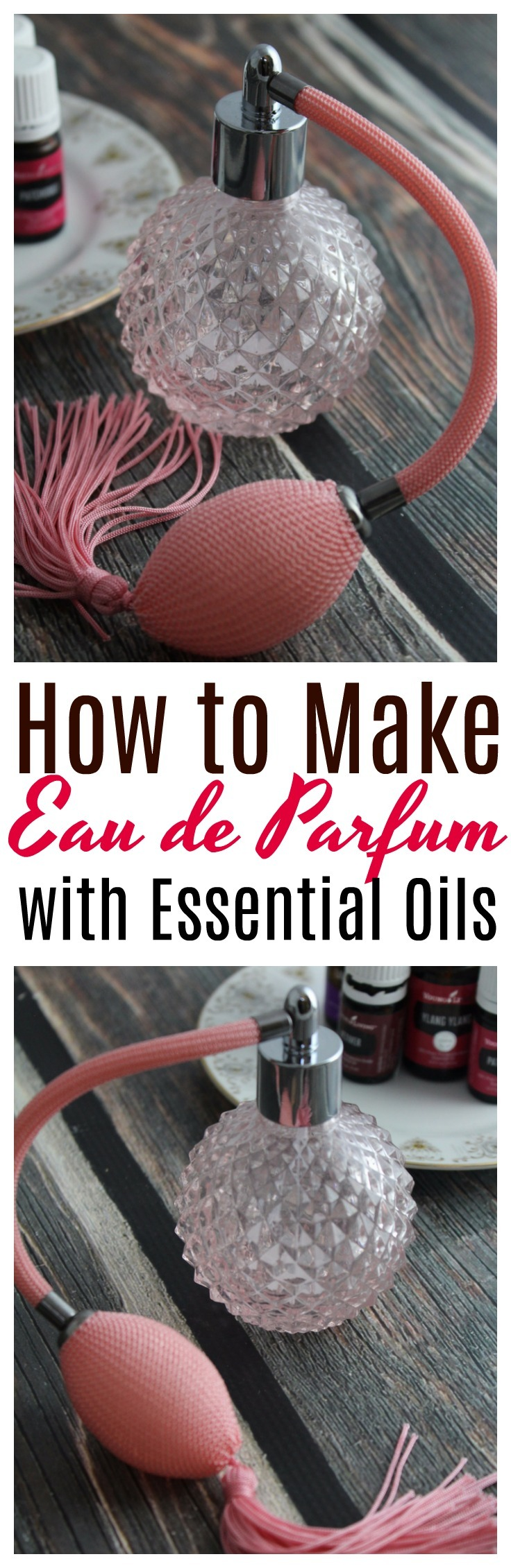 Find out how to make your own homemade perfume with essential oils - for you, or to give as a gift!  #perfume | #essentialoils | #DIY