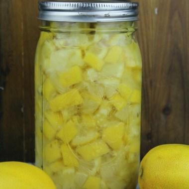 Quick & Easy Preserved Lemons