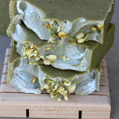 Avocado and Milk Cold Process Soap