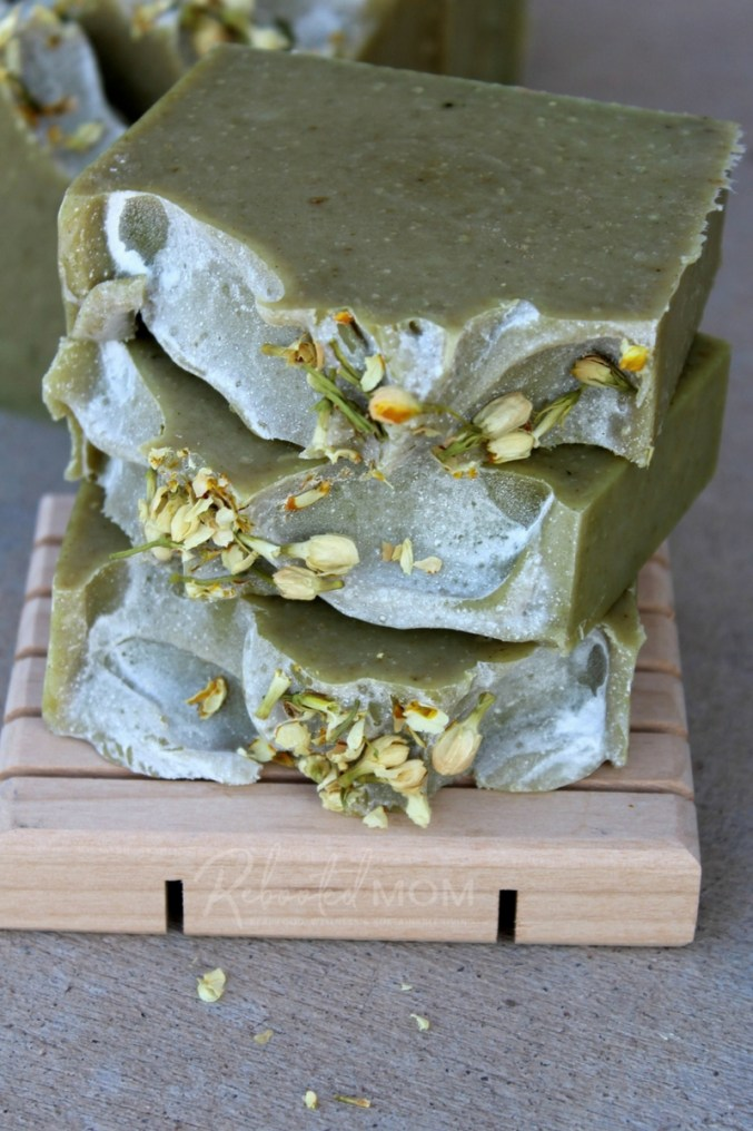 This avocado and milk cold process soap includes a whole, organic avocado and raw milk from grass-fed cows, which are wonderful to nourish and moisturize skin!