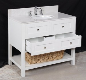 elegant 36 inch single sink white bathroom vanity sets