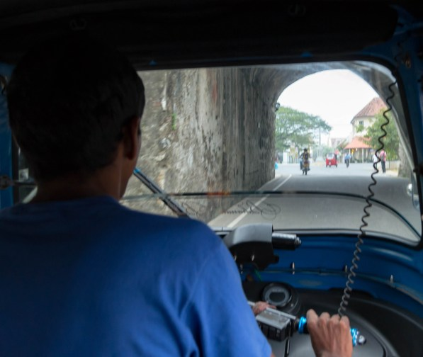 A Tuk-Tuk ride in Galle